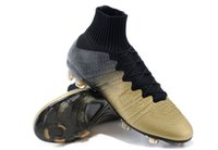 spike ball - New CR7 Superfly Soccer Boots Football Shoes Men Athletic Cleats Outdoor Ball Sportswear Black CR Ronaldo Boot Man Shoe High Ankle Net