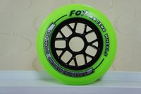 aggressive inline skates wheels - Aggressive Green Black set of mm wheel Y inline skate wheel