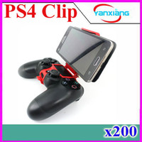 Wholesale Smart Clip Mobile Phone Clamp for PS4 Controller Smart Clip Gamepad Holder for IOS Android Phone Tablet PC ZY JZ
