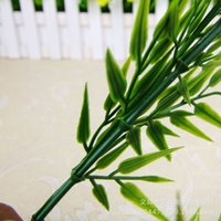 bamboo vines - Artificial Bamboo Leaves Vine For Wedding Diy Home Garden Decoration Plant Leaf