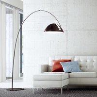 live fish - Modern Floor Lamps Pluma Italy Designer s Lamp Ink Pen Originality Fashion High Grade Living Room Aluminum Fishing Floor Lamp Black White