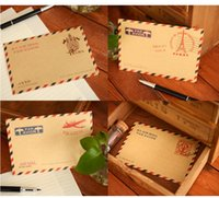 Wholesale 320 Vintage Mini Kraft Paper Envelope letter Envelope Brown Wedding x7 cm