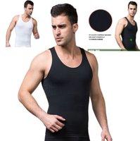 Cheap Men Men Slimming Vest Best Tops Acrylic men body shaper