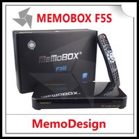 Wholesale MEMOBOX F5S Satellite TV Reciever P Full HD DVB S2 Set Top Box Supported USB WiFi CCcam NEWcam MGcamd Youtube
