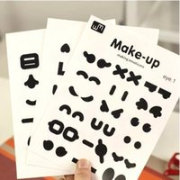 album making - cartoon make up deco diary sticker decoration labels decals for mobile phone notebook diary book photo album ARC602