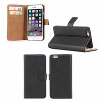 Cheap Fashion luxury Leather hard plastic case Flip Wallet Credit card Slot Stand Holder cover cases For Iphone 6 6G Iphone6 6+ plus 30pcs 50pcs