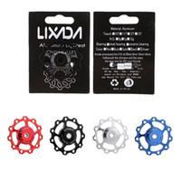 Wholesale Hot Sale LIXADA Bicycle Derailleur MTB Road Bike Rear Derailleur Aluminum Alloy T Guide Roller Pulley Jockey Wheel