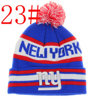 album sales - Top Quality Pom Beanies Hot sale Knitting Hats Basketball Beanie football hat Mix Order Albums offered colors