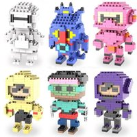 Wholesale Brand New Big Hero Building Blocks Styles New Big Hero boy and girl DIY Bricks Toys include package box