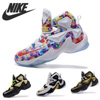 camping light - 2015 Men s Basketball Shoes Nike Zoom Lebron James LJ13 Retro New Athletic Sport Trainers With A Light And Lean Hyperposite Size