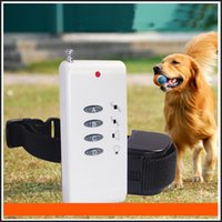 Wholesale Newest Electronic Pet Dog Vibration Shock Collar Remote Control Anti Bark barking Pet Training collar For dog
