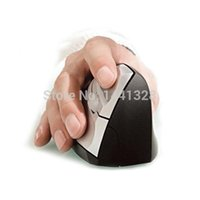 Wholesale Professional Wireless DPI Ergonomic Optical Mouse Ergonomic Vertical reative Comfort Showcase