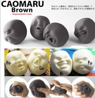 Wholesale dhl Relievers anti stress face balls gift Creative people face ball doll vent vent human face ball