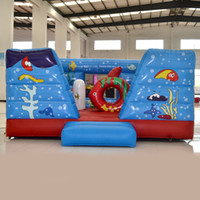 aquatic plants sale - AOQI amusement park equipment aquatic bouncer inflatable bouncer inflatable jumping bouncer for children inflatable toy for sale
