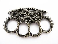 arts collection - collection Works of art New dragon design Four fingers knuckles Excellent defensive tools Self defense