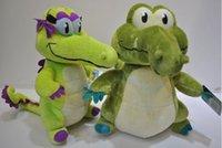 Wholesale 2015 Cartoon Where is My Water Hot Game Stuffed Animals Plush Toys Crocodile Cotton Stuff Plus Animal Toy crocodile Dolls CM D3867