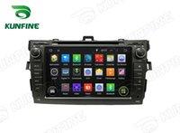 "Wholesale Corolla Radio Bluetooth - Android 5.1 Quad Core Car DVD GPS Navigation Player for TOYOTA COROLLA 2006-2011 Radio Wifi3G steering wheel control 8"" 1024*600 HD Screen"
