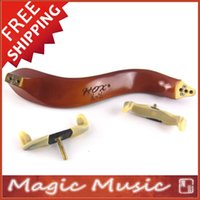 Wholesale HOX Wooden Shoulder Rest for Violin Size New Screw Design