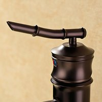 bathroom tap tops - New Oil rubbed Bronze Water Tap Centerset Bathroom Sink Faucet Top Grade Single Handle Basin Water Faucet
