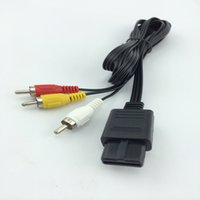cable for tv game - New FT AV TV Video Cord Cable for Nintendo Game Cube N64 SNES M
