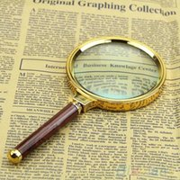 Wholesale New mm Handheld X Magnifier Magnifying Glass Loupe Reading Jewelry S2X
