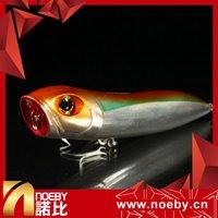 NOEBY твердые приманки NBL 9112 110мм 26г поппер жесткий пластик ABS соленый поппер приманка