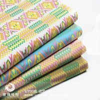african cloth patterns - African National Wind Dog ripple patterns imitation washed stretch denim fabric geometric designs handmade cloth