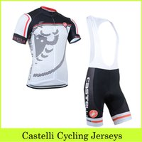 racing wear - 2015 New Design White Cycling Jerseys Set With Bib Shorts Cycling Clothing Bicycle Wear Road Racing Outdoor Riding Skinsuit Bike Team