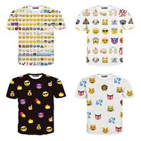 Cheap New 2014 Fashion 1991 Inc Women Men Clothing Funny Cartoon Emoji Print 3D T Shirt Punk Camisetas O-neck Short Sleeve Tee Tops