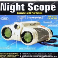 Wholesale x mm Night Vision Surveillance Scope Binoculars Telescopes with Pop up Light New