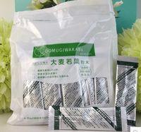 al por mayor polvo matcha japonés-Jugo verde japonés de alto grado Matcha polvo de té verde 100% natural ayuda orgánica joven y hermosa 22bag / Lot comida japonesa