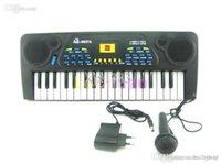 venda por atacado trumpette meia-Frete grátis 37 tecla do teclado de piano Crianças Brinquedos Eletrônica de Órgãos de demonstração de música educacional elétrico Atacado Teclado