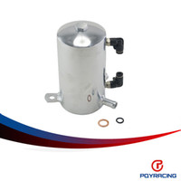 Wholesale PQY RACING L POLISHED mm quot BARB ALUMINIUM OIL CATCH CAN BREATHER TANK RESERVOIR PQY TK3202