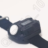 Wholesale 600PCS LJJH1222 Rechargeable Tactical Wrist light time Wrist Light Lamp LED Flashlight watch torch USB cable