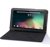 Wholesale Special Leather Case Stand Cover For quot inch Android Tablet PC MID Allwinner A23 A33 A31S Action mtk8127