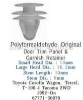 auto door latches - auto clip door trim panel amp garnish retainer for toyota M48392 door latch door bouncer door wall