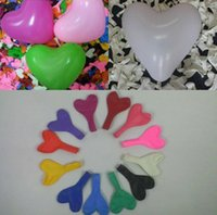 Wholesale Party decoration Valentine Heart balloons Love Wedding decoration Best price natural latex material size inch _A