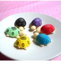 Wholesale 4pcs Turtle Eraser Rubber Eraser Cleansing Kid Child Gift Toy School Stationery Products