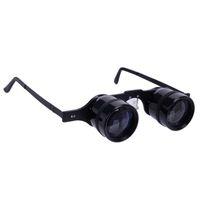 Wholesale X34 Glasses Style Fishing Telescope Binoculars Black OT0181