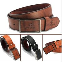 Wholesale New Fashion Design Men s Cpw belt PU Cowskin Strap With Metal Buckle For Women Men