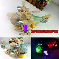 Wholesale Creative toy electric universal flash light armed helicopter stunning children cool electric toys