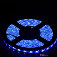 Wholesale LED Strips SMD LED Strip White Blue Yellow Red Green Leds Waterproof IP65 M V Flexible Single Color Light Decorative LED Strips
