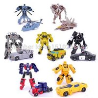 Wholesale Transformation Robot Bumblebee Optimus Prime Megatron Action Figure Classic Robot Toys for Boys Gift