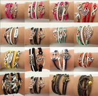 Wholesale 2016 NEW Creative Jewelry manufacturers aliexpress explosions supply Europe and the big names of foreign trade the multilayer woven