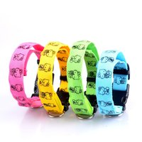 led glow products - Glow LED Dog Collars and Leashes Flashing Nylon Collar Night Safety Collars Supplies Products Color With High Quality Slim Battery