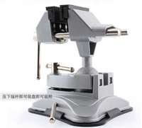 Wholesale Aluminum Alloy vacuum bench vice Table vice for DIY flat pliers for metal working