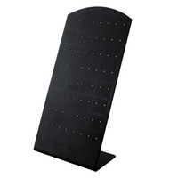 Wholesale New Fashion Holes Earrings Ear Studs Jewelry Show Plastic Display Rack Stand Organizer Holder Showcase Christmas