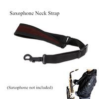 Wholesale Saxophone Sax Neck Strap Cotton Padded Adjustable Design with Hook Clasp Saxophone Accessories Easily Installed and Removed