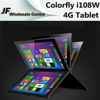 Wholesale 4G Colorfly i108W inch Windows Phablet inch Quad Core Tablets PC Intel Z3735F px GB RAM GB ROM MP MPOTG Wifi LTE