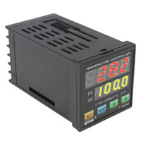 Wholesale Dual Digital F C PID Temperature Controller TA4 RNR K Thermocouple INS_116